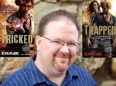Click on the pin to read an interview between Kevin Hearne and Shauna.
