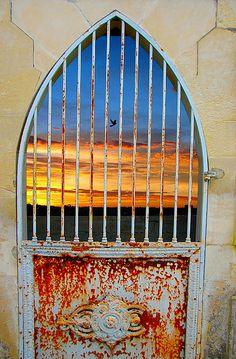 door to freedom...
