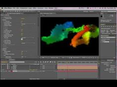 After Effects Tutorial - Particular Volumetric Smoke - YouTube