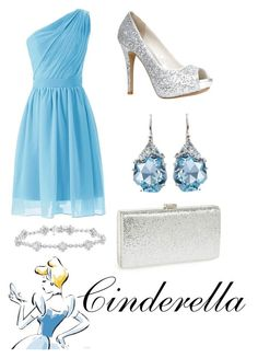 """""""Cinderella"""" by krusi611 ❤ liked on Polyvore featuring ALDO, Alexis Bittar and Natasha Couture"""