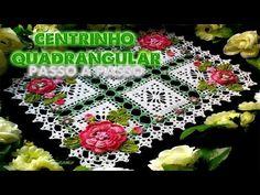 Croche - DIY Centrinho Colorido Florido - [PT-BR] - Parte 1 - YouTube