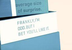 self promotion surprise box