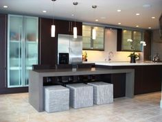 modern island kitchen - Google Search                                                                                                                                                                                 More