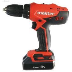 MAKTEC by MAKITA Akku-Bohrschrauber MT071E 18 V Li-Ion