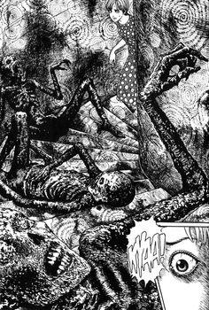 EL BLOG DE LA MUERTE: JUNJI ITO Y UZUMAKI, LA ESPIRAL DEL HORROR