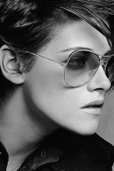 Kristen Stewart by Karl Lagerfeld for Chanel Eyewear S/S 2015  [Campaign]