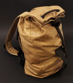 Deep Forest backpack by Daniel Valsesia at Coroflot.com