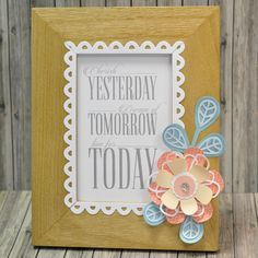 How to Make a Wedding Gift and Card #Wedding #Papercraft #Sizzix