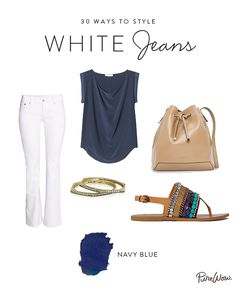 Very nice! Love the top and the sandals.  The bag not so much.  I think the color and/or finish is a bit off but the shape is nice with this look.