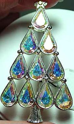 Eisenberg Ice Vintage Iridescent Crystals Christmas Tree - Bing Images