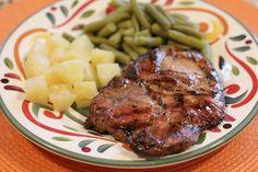 Grilled Brown Sugar Pork Chops 2
