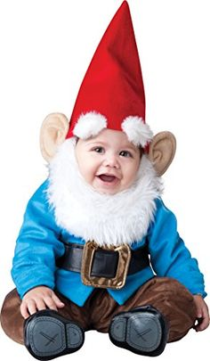 nice InCharacter Baby Lil' Garden Gnome Costume 89