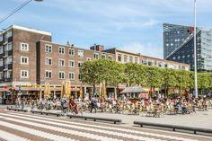 Terras van Zanten om de Hoek. Te koop: Luxe Appartement in de Hofdame. Binnenrotte 193 + PP te Rotterdam - www.vrielingmakelaars.nl