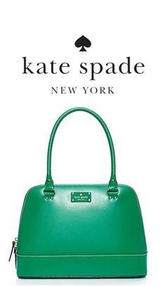 KATE SPADE Mint Condition Emerald Green Shoulder Bag - $335