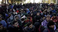 Boggart Abroad: Migrants Mass At Greek Border Waiting To Cross Int...