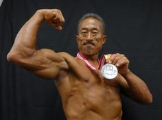 角田信朗、日本マスターズボディビルで準優勝の快挙 #角田信朗 #ボディービル