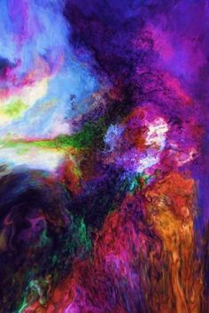 Sophie Shapiro - The Healing Art of Colour. Link gives description of artists meaning behind this image.