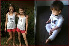 Tee shirts I have created for kiddies :)