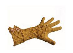 Ravelry: Three Oaks pattern by Julia Mueller, knit, knitting, stricken, Anleitung, Handschuhe