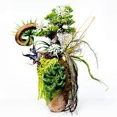 Botanical sculpture cut05-011 AMKK(東 信、花樹研究所). AZUMA Makoto, flower artist http://azumamakoto.com/?p=162#