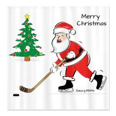 Hockey Snowman Christmas Tree | Hockey Christmas | Pinterest ...