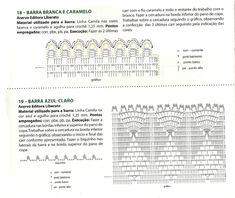 MIRIA CROCHÊS E PINTURAS: BARRADOS DE CROCHÊ BONITINHOS