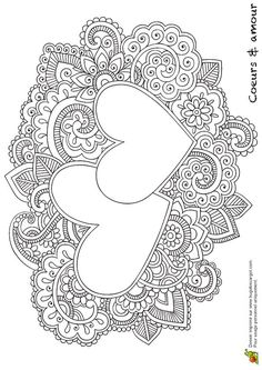 Heart Mandala Coloring Pages | f91deb7e0813b95436277cf1da68f920.jpg                                                                                                                                                     More