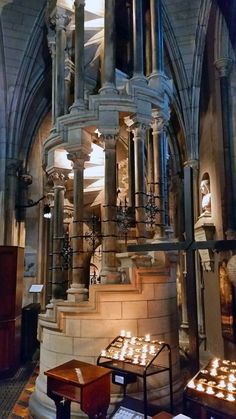 St Patrick's cathedral, Dublin.: