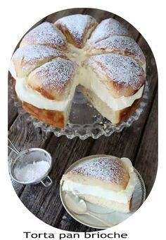 What's better than a Swedish cream bun? A Swedish cream bun cake, of course! Swedish Recipes, Sweet Recipes, Cake Recipes, Dessert Recipes, Scandinavian Recipes, Swedish Foods, Norwegian Recipes, Norwegian Food, Dessert Bread