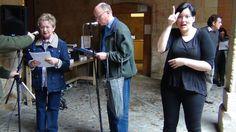 Semana Día del Libro 2013. Lectura en alemán. Olga y Torsten