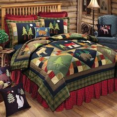 undefined - Multi | bettys board | Pinterest | Products : log cabin style quilts - Adamdwight.com