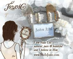 TRIO Nude Lee bracelet:  Natural, Pure & Beautiful…a Believer's Xpression. Learn more & Shop now at www.sheisjonic.com