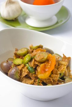 fermented soybean stir fry with eggplants and beancurd