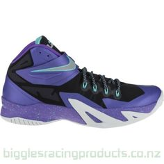 Nike Zoom Lebron Soldier VIII Basketball Purple Sneakers, Nike Zoom, Running Shoes, Basketball, Runing Shoes, Netball
