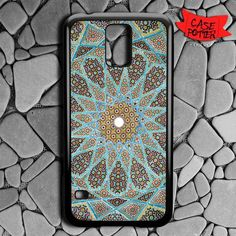 Mandala Pattern Art Samsung Galaxy S5 Black Case