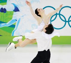 Tessa Virtue and Scott Moir. Canadian olympic gold medalists
