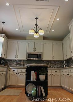 Removing a Fluorescent Kitchen Light Boxvia TheKimSixFix.com