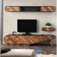 The How to Set Up Your Living Room ( Without a Focus on the TV ) Pitfall - myriadinspira unit decor Scandi Tv Unit Decor, Tv Wall Decor, Tv Cabinet Design, Tv Wall Design, Tv Unit Furniture, Furniture Design, Modern Tv Wall Units, Living Room Tv Unit Designs, Woodworking Projects Diy