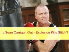 The Young and the Restless Spoilers: Is Sean Carrigan Out at Y&R - Dr. Shelby Can't Save Stitch After Newman Explosion?