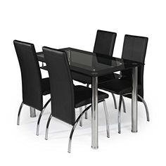 Glass Dining Table and 4 Chairs set, Table size 120 cm wi... https://www.amazon.co.uk/dp/B01B0L7SY8/ref=cm_sw_r_pi_dp_x_Spp-xb5F64EXF