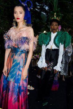 43e397e3f19 Dolce   Gabbana s Como Chameleons  Naomi Campbell