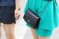 Street Chic: New York Fashion Week Accessories  - ELLE.com
