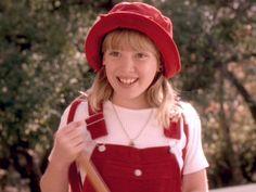 Hilary Duff as Wendy in 'Casper Meets Wendy' 1998  [Photo: Disney Channel]