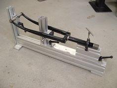 Fork Fixture, Aluminum extrusion, Mike Flanigan