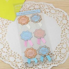 Gift Stickers - Deco Stickers - Lace Stickers - For You(Flower Style)