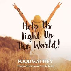 Do you want to write for Food Matters? Light up the world with your inspiration and reach millions of passionate people by writing unique content for the Food Matters community! Head here to find out more about contributing to our community! http://www.foodmatters.com/contribute