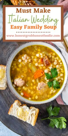 This easy family soup is one that will be on repeat all Fall & Winter long. It is high protein, easy and freezer friendly. Enjoy this must make soup of the season.