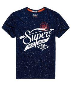 SUPERDRY Angebote Superdry The Craftsman Indigo T-Shirt: Category: Herren / T-Shirts / T-Shirt mit Print Item number:…%#Mode%