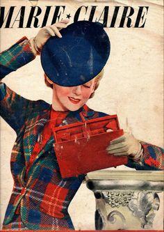vintage Marie Claire magazine