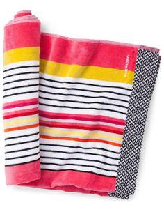 Canningvale Egyptian Cotton Velour Sinclair Beach Towel